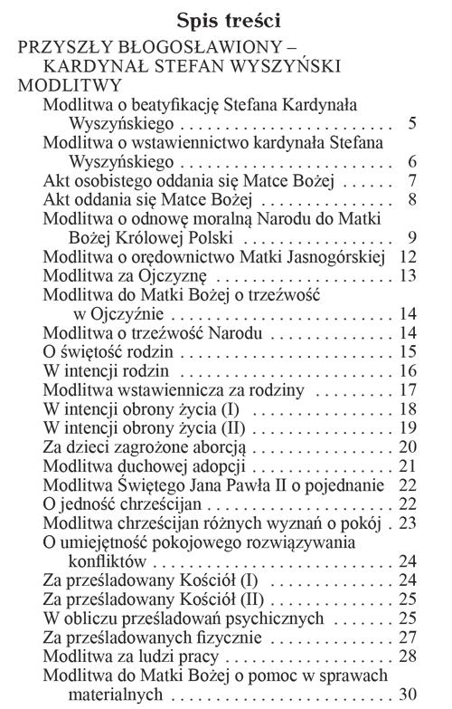 Modlitewnik za wstawiennictwem Sługi Bożego Kardynała Stefana Wyszyńskiego - W oczekiwaniu na beatyfikację
